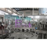 Quality 24 Head Juice Filling Machine 8000 Plastic Bottles Per Hour Screw Caps for sale
