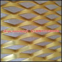 Quality decorative aluminum sheet for expanded metal mesh for sale