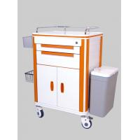 Quality Emergency Aluminum Hospital Medical ABS Patient Nursing Carts for sale