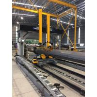 China Gantry Positioning H Beam Assembly Machine For Pole Lamp Post Flange Fitting / Welding on sale