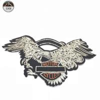 China Personalized Sequined Embroidered Eagle Patches Cartoons Image For Clothing on sale