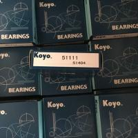 Quality JAPAN KOYO THRUST BALL BEARING 51111 BEARING 55mm*78mm*16mm exporting all over the world for sale