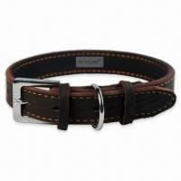 Quality Leather Pet Collar, OEM Orders are Welcome, Various Colors are Available for sale
