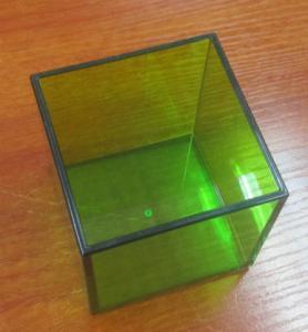 Heat Treatment Precision Plastic Injection Mould Of Transparent Decoration Box