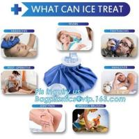 Quality Healthcare medical reusable ice bag pack for cold therapy, Medical injury pain relief instant ice pack hot cold bags GEL for sale
