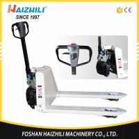 Quality Extraordinary factory new type semi electric pallet truck 2 ton with cheap price for sale