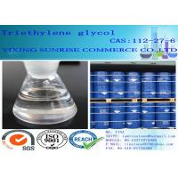 Buy cheap CAS 112-27-6 Triethylene glycol Paint Solvent Odorless Hygroscopic Viscous Liquid product