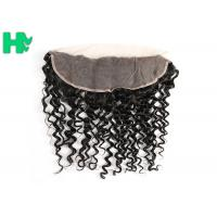 China No Tangle And Shedding Deep Curly Hair Closure 8'' 10'' 12''  Length on sale