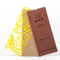 China Multi - Size Custom Garment Tags Plastic Clothing Hanging String Labels Durable on sale