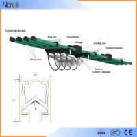 Quality Aluminum Multiple Conductor Rails , 3 Phrase Power Distribution System for sale