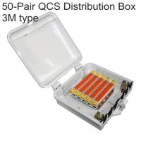 Buy cheap 3M Quick Connect System  Cat.5 QCS 50Pair Block 2810 IDC Connection Toolless Module Gel-filled product