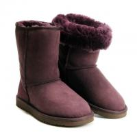Buy cheap NET women' s snoe boot, short UGG, chocolate color, free shipping from wholesalers