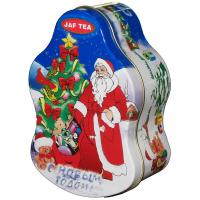 Buy cheap Santa Claus Metal Tin Container For Christmas Holidays , Custom Box product