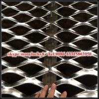 Quality Decorative expanded metal mesh Cladding of outer façades of car parks for sale