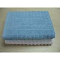 Quality Wave- Plain Dyed Bath Towel With High Low Wave for sale