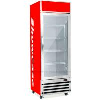 China 350L Upright Display Fridge , Auto Defrost Refrigerated Display Cooler on sale