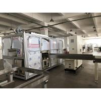 Quality Automatic Baby Diaper Production Line Fabricated Three Phase Four Wires System for sale
