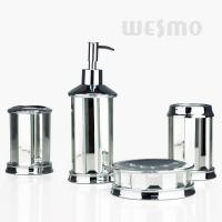 Quality Fashion Style Real Mirror Polyresin Bathroom Set / Bathroom Accessories (WBP0850A) for sale