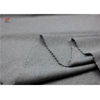 China Melange Colour Sports Clothing Weft Knitted Fabric Polyester Spandex Material on sale