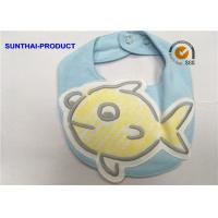 Quality 3D Big Fish Baby Bibs And Hats Popular Design Double Layer Applique Baby Bibs for sale