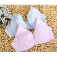 Buy cheap 32A - 44E Adjustable Pure New Styles Anti-Bacterial Customized OEM Underwire Nursing Bra product