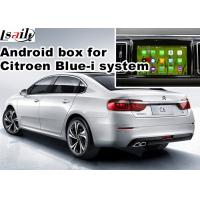 Quality Android 5.1 4.4 Car Navigation Box For 2016 Citroen C6 With Youtube Waze Rear View with video interface Etc for sale