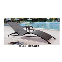 China outdoor rattan chaise lounge outdoor chaise lounge on sale