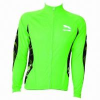 Buy cheap Cycling Suit with Ultra-comfortable Elastic Mesh Fabric from wholesalers