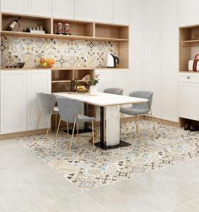 Quality Decorative Cement 600x600 Mm Living Room Porcelain Floor Tile for sale