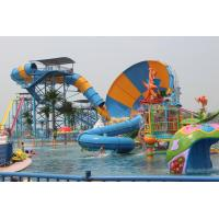 Buy cheap Aqua Park Water Park Project With Tornado Water Slide / Water House / Lazy River from wholesalers