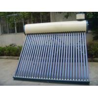 Strong qualified solar water heaters covered with color steel