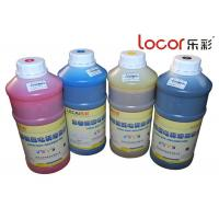 Quality Drying Fast Inkjet Printer Ink , Solvent Ink Cartridges Good Adhesion 4 Colors for sale