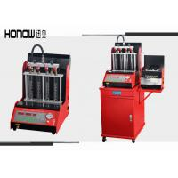 Quality Red Full Automatic Injector Ultrasonic Cleaning Machine Nozzle Test Equipment for sale