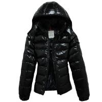 Buy cheap MONCLER bady down jacket, shiny, black from wholesalers