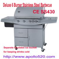 Buy Deluxe 6 Burner Stainless Steel Barbecue at wholesale prices