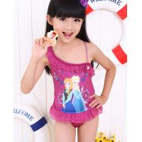 Quality on the girl child cartoon princess frozen swimsuit swimming costume for sale