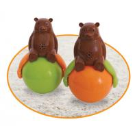 Buy Speakers Tumbler Cute Pet Toys Sound And Light Ball Bear 4.2V With Led Light at wholesale prices