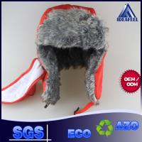 Quality Mens Winter Hat With Brim And Ear Flaps , Plastic Closure Winter Wool Hats For Men for sale