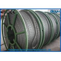 Quality 658kN T29 Structure Anti Twist Wire Rope Galvanized Steel Rope 30mm Breakage for sale