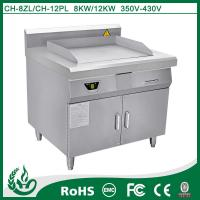 Hight quality commercial induction griddle cookers with 8kw