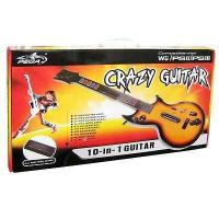Quality 10 in 1 Wireless Guitar for Wii PS3 PS2 for sale