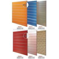 Buy cheap Slot MDF Board / Grooved Panel/ Slotted Grooved Board from wholesalers