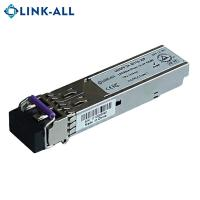 China 1.25G 1310nm single mode 20km fiber optical SFP transceiver module on sale