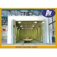 Quality Manual Electric Steel Shot Blasting Booth For Cleaning Structural Steel for sale