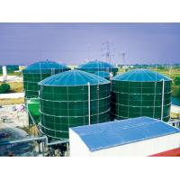 Smooth Glass Fused To Steel Tanks , Above Ground Fuel Storage Tanks AO Reactors