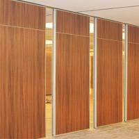 China Sound Insulation Folding Movable Partition Walls System For Banquet Hall on sale