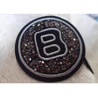 Quality Iron Handmade Imitation Diamond Patches For Equestrian Clothing for sale