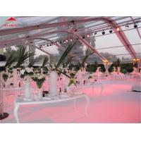 Quality PVC Double Coated Polyester Outdoor Event Tent Without Center Pole for sale