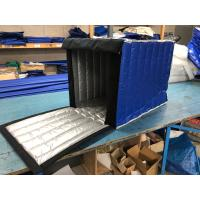 Quality Dark Blue Insulated PE Roll Cage Cover 2.8 Kg Gross Weight For Fruit Food Industry for sale