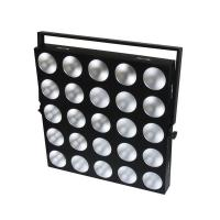 Quality 25pcs 10w Matrix Led Disco Lights With Black Cold Rolled Steel Housing for sale